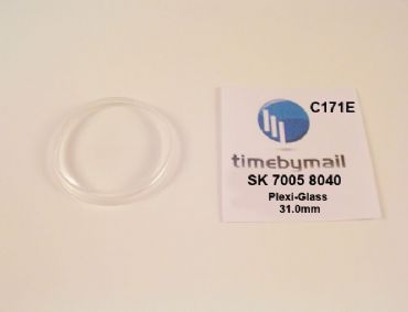 New Watch Crystal For SEIKO 7005 8040 17 JEWEL Plexi-Glass Spare Part C171E